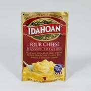 Idahoan Four Cheese Mashed Potatoes, 4 Ounce Pouch -- 12 per case.