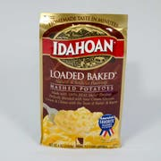 Idahoan Loaded Baked Mashed Potatoes, 4 Ounce Pouch -- 12 per case.