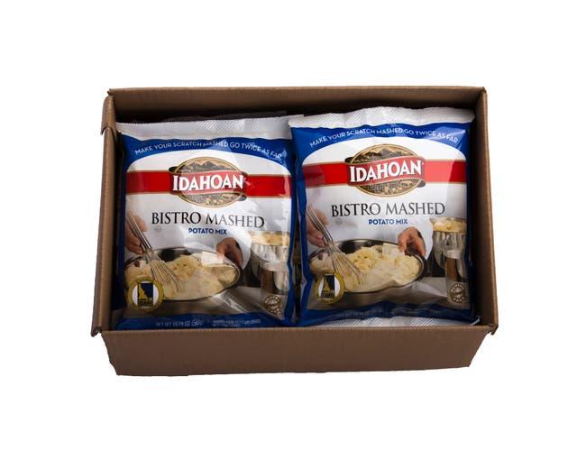 Idahoan Bistro Mashed Potato Mix Pouch, 19.79 Ounce -- 10 per case