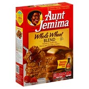 Aunt Jemima Whole Wheat Pancake Mix -- 12 Case 35 Ounce