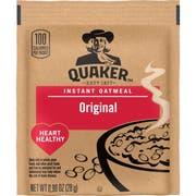 Quaker Regular Instant Oats, 0.98 ounce -- 48 per case