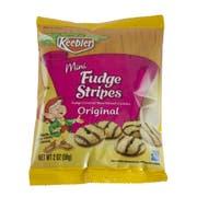 Cookie Keebler Fudge Stripe Mini Bites 60 Case 2 Ounce
