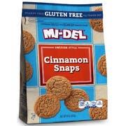 Midel Gluten Free Cinnamon Cookie Snaps, 8 Ounce -- 8 per case