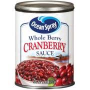 Ocean Spray Whole Berry Cranberry Sauce, 14 Ounce -- 24 per case.