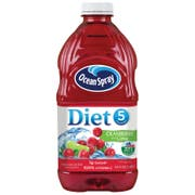 Ocean Spray Diet Cranberry with Lime Juice Drink, 64 Fluid Ounce -- 8 per case.