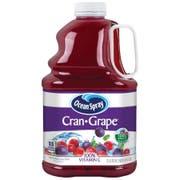 Ocean Spray Cran-Grape Cranberry Grape Juice Drink, 3 Liter -- 6 per case.