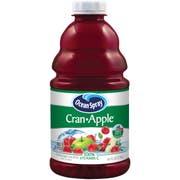 Ocean Spray Cranberry Apple Juice, 46 Ounce -- 8 per case.