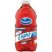 Light Cranberry Cocktail Juice 8 Case 64 Ounce
