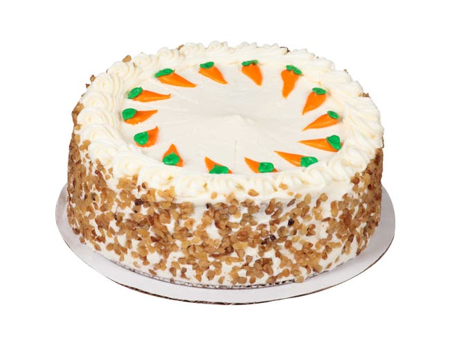 Sara Lee Round World Greatest Carrot Premium Butter Cream Layer Cake, 9 inch -- 2 per case.