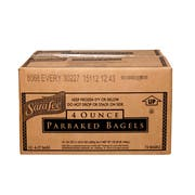 Sara Lee Par Baked Everything Topped Bagel, 4 Ounce -- 72 per case.