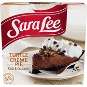Sara Lee Turtle Creme Pie, 22 Ounce -- 6 per case.