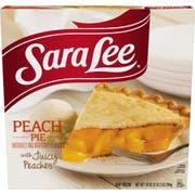 Sara Lee Unbaked Peach Pie, 2.125 Pound -- 6 per case.