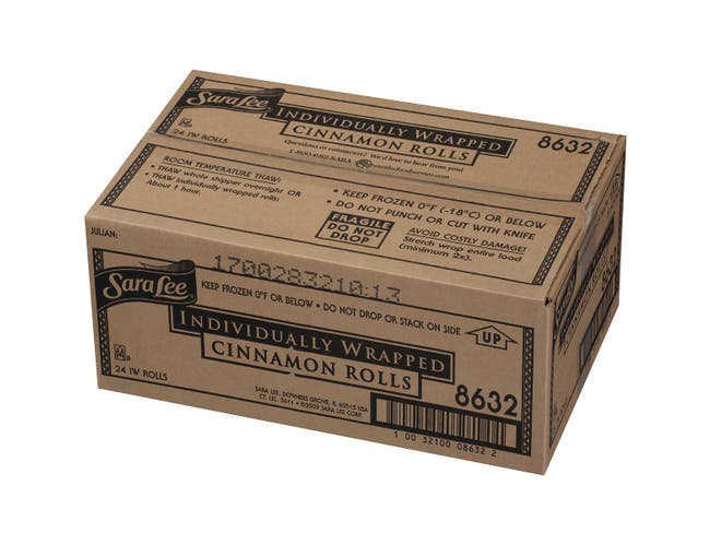 Sara Lee Ultimate Cinnamon Roll, 4.875 Ounce -- 24 per case.