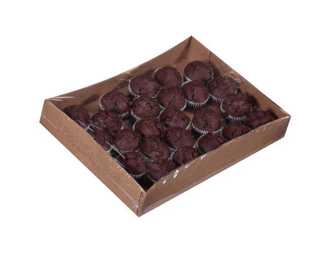 Chef Pierre Whole Grain Double Chocolate Muffin, 2 Ounce -- 4 per case.