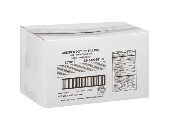 Heinz Quality Chef Entree Chicken Pot Pie Filling, 8 Pound -- 6 per case.