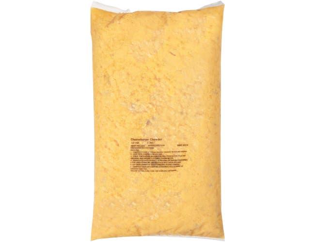 Chef Francisco Cheeseburger Chowder - 8 lb. bag, 4 per case