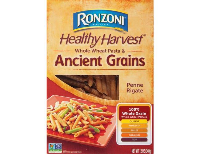 Ronzoni Healthy Harvest Ancient Grains Penne Rigate, 12 Ounce -- 12 per case.