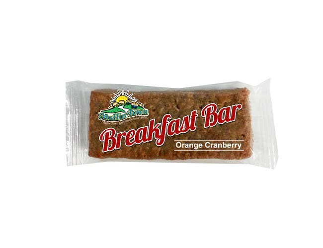 Muffin Town Orange Cranberry Breakfast Bar, 2.33 Ounce -- 144 per case.