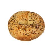 Muffin Town Sliced Individually Wrapped Multi Grain Bagel, 2 Ounce -- 72 per case.