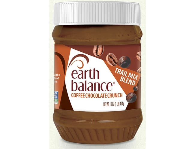 Earth Balance Peanut Butter Coffee Chocolate Crunch Trail Mix Spread, 16 Ounce -- 6 per case