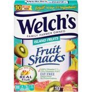 Welchs Island Fruit Fruit Snacks, 0.9 Ounce - 10 count per pack -- 8 packs per case