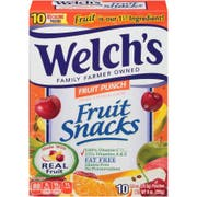 Welchs Fruit Punch Fruit Snacks, 9 Ounce -- 8 per case