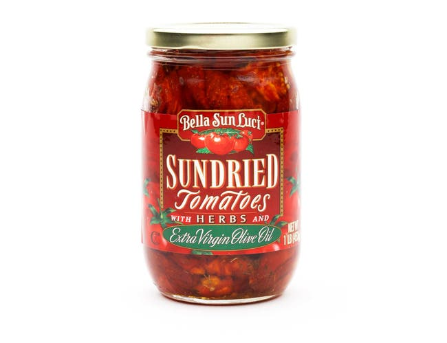 Bella Sun Luci Sun Dried Tomatoes 16 Ounce Halves in Oil -- 12 per case.