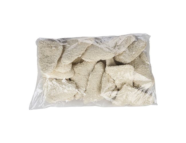 Fishery Crunchy Breaded Cod Fillet - 4 Ounce, 10 Pound -- 1 each.