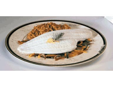 Fishery Holland Flounder Fillet - 5 Ounce, 10 Pound -- 1 each.