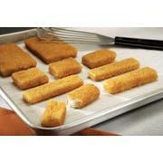 Viking Golden Crunchy Whole Grain Breaded Sticks, 5 Pound -- 4 per case.
