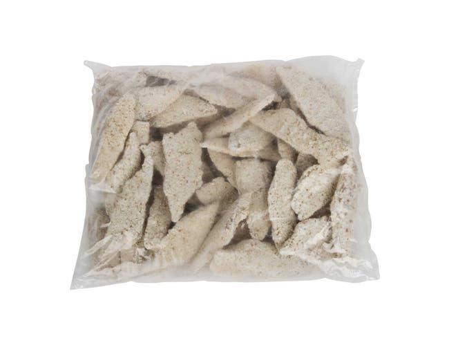 Fishery Alaskan Natural Breaded Pollock - 1.5/3 Ounce, 10 Pound -- 1 each.