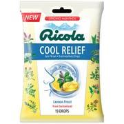 Ricola Cool Relief Lemon Frost Cough Drops, 19 count per pack -- 24 per case