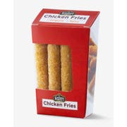 Cooked Perfect Original Chicken Fries, 15 Ounce -- 10 per case.