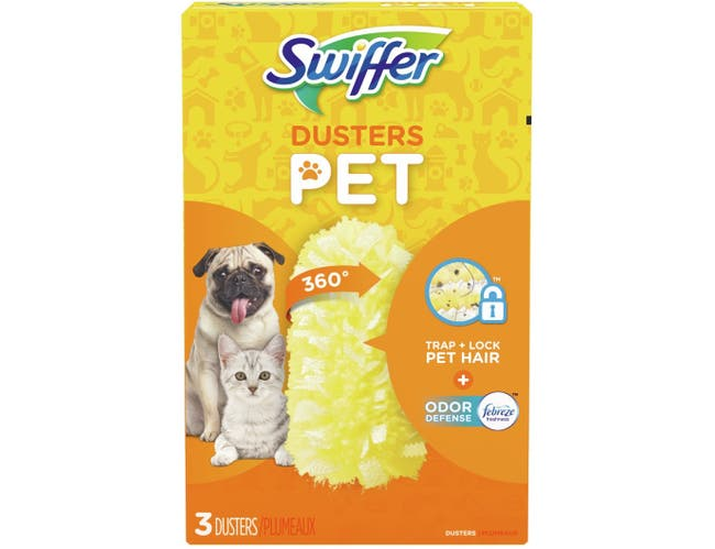 Swiffer 360 Degree Pet Odor Duster, 3 count per pack -- 6 per case.