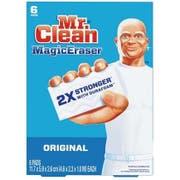 Mr. Clean Original Magic Eraser Cleaning Pad with Durafoam, 6 count per pack -- 6 per case