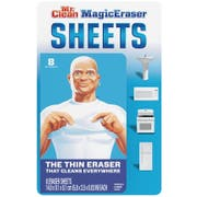 Mr. Clean Magic Eraser Cleaning Sheets, 8 count per pack -- 16 per case