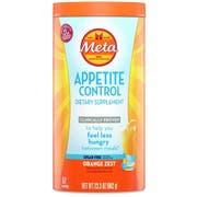 Metamucil Sugar Free Orange Zest Appetite Control Dietary Supplement, 23.3 Ounce -- 4 per case.