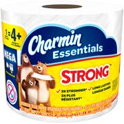 Charmin Strong Essentials Toilet Paper -- 36 per case.