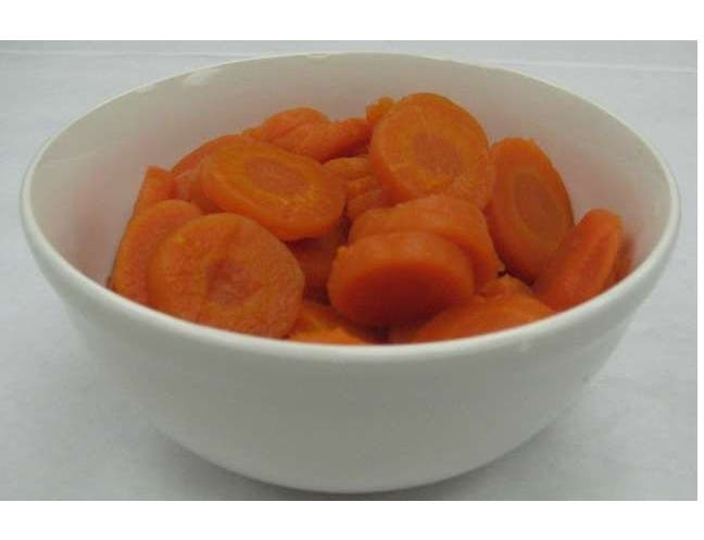 Libby Low Sodium Medium Sliced Carrots, 105 Ounce -- 6 per case
