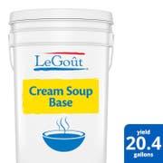 LeGout Cream Soup Base, 22.5 Pound -- 1 each.