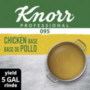 Knorr Professional 095 Low Sodium Chicken Stock Base, 1 pound -- 12 per case