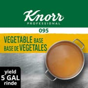 Knorr Professional 095 Low Sodium Vegetable Stock Base, 1 pound -- 12 per case