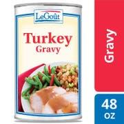LeGout Turkey Gravy, 49 ounce -- 12 per case