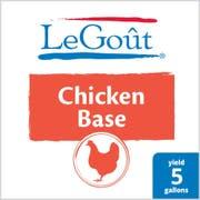 LeGout Chicken Stock Base, 1 pound -- 12 per case