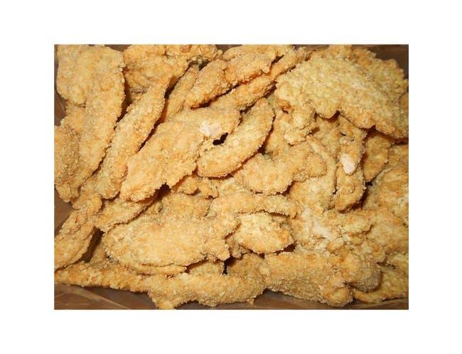 Brakebush Breast Tender Fritter Chicken Pieces, 10 Pound -- 1 each.