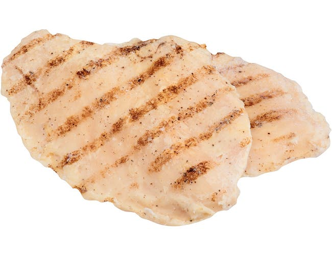 Dutch Quality House Naturelle Fully Cooked Seasoned and Grill Marked Chicken Breast Fillets, 4 Ounce -- 1 each.