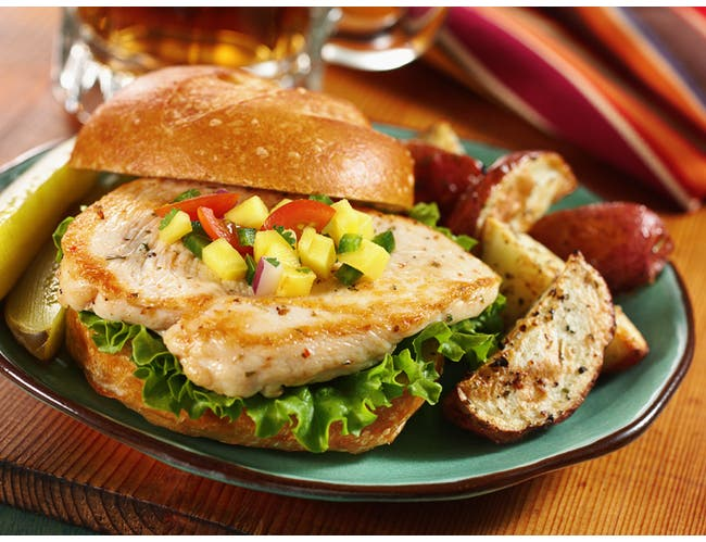Wayne Farms Ready To Cook Marinated Chicken Breast Fillet, 5 Pound -- 2 per case.