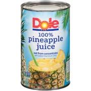 Dole Pineapple Juice, 46 Ounce -- 12 Per Case