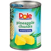 Dole Pineapple Chunks In Syrup, 20 Ounce -- 12 per case