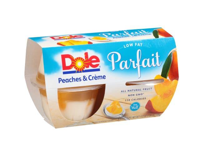 Dole Fruit Peach and Creme Parfait,17.2 Ounce -- 6 per case.